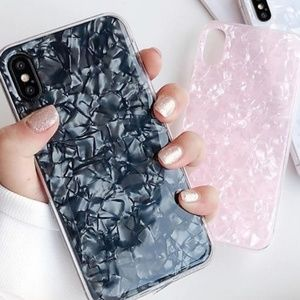 Accessories - NEW iPhone 7+/8+ Pink Conch Shell Case